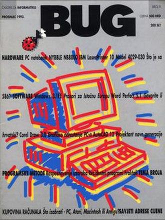 BUG (magazine) - First issue (1992)