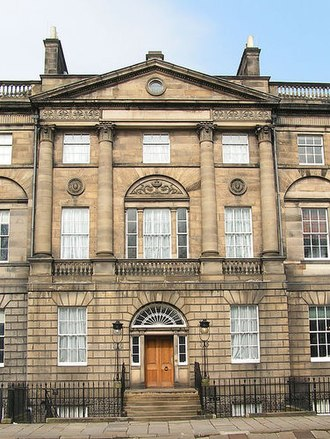 Catherine Sinclair - 6 Charlotte Square, now known as Bute House, and now the official residence of the First Minister of Scotland