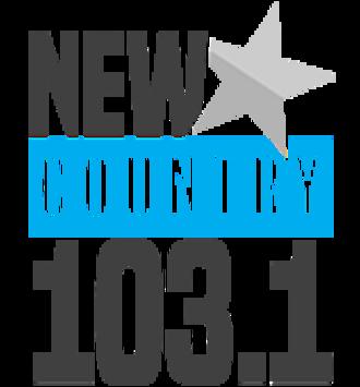 CJKC-FM - Image: CJKC New Country 103.1 logo