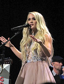 Carrie Underwood American country music singer