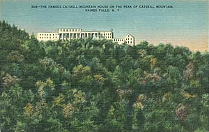 Catskill Mountain House - Postcard view of the hotel, undated