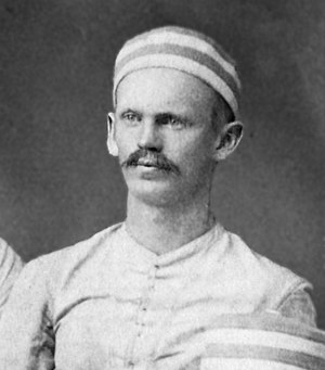 Charles S. Mitchell - Mitchell cropped from the 1879 Michigan football team portrait