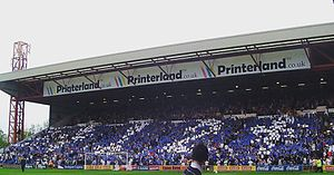 Edgeley Park - Image: Cheadle End 2006