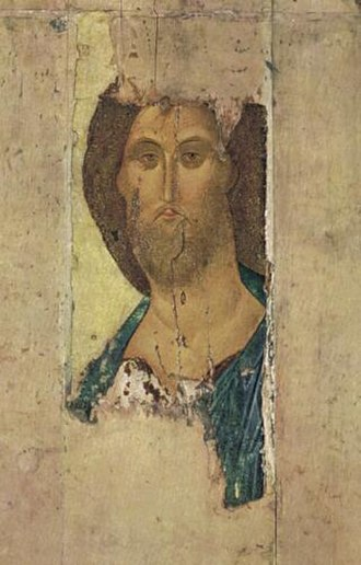 Christ the Redeemer (icon) - Image: Chirst the Redeemer by Andrey Rublev