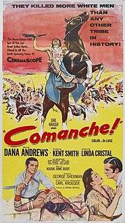 <i>Comanche</i> (1956 film) 1956 film by George Sherman