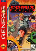 Picture of a game: Comix Zone