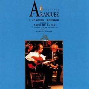 Concierto de Aranjuez (Paco de Lucía album) - Image: Concierto de aranjuez