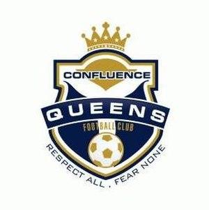 Confluence Queens F.C. - Image: Confluence Queens F.C. logo