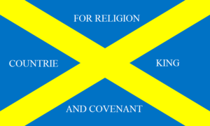 Battle of Preston (1648) - Image: Covenanter Flag