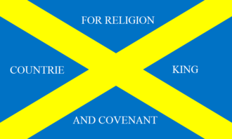 Siege of York - Image: Covenanter Flag