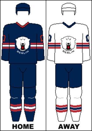 Eisbären Berlin - Image: DEL Uniform ESB