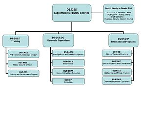 Diplomatic Security Service - DSS Organizational Chart