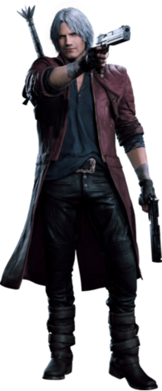 Dante (Devil May Cry) - Dante as he appears in Devil May Cry 5
