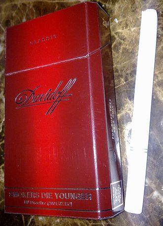 Davidoff - A pack of Davidoff Classic cigarettes