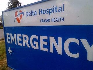 Delta Hospital Hospital in British Columbia, Canada