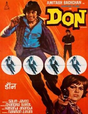 Don (1978 film) - Film Poster