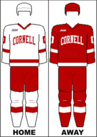 Cornell Big Red men's ice hockey - Image: ECAC Uniform Cornell