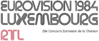 Eurovision Song Contest 1984 - Image: ESC 1984 logo
