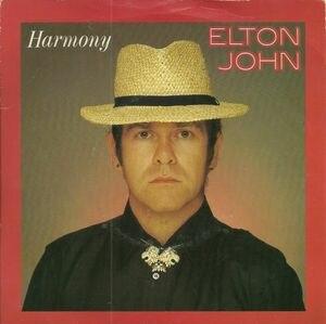 Harmony (Elton John song) - Image: Elton John Harmony cover