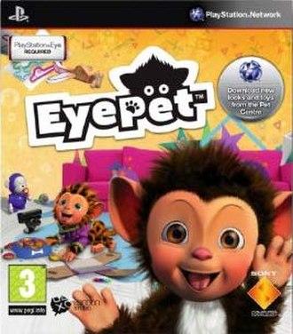 EyePet - European box art for EyePet