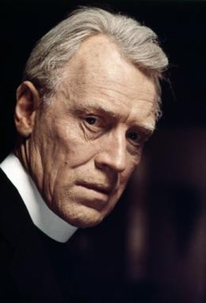 Lankester Merrin - Max von Sydow as Father Lankester Merrin in The Exorcist.