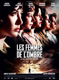 <i>Female Agents</i> 2008 film directed by Jean-Paul Salomé