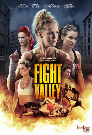 Fight Valley - Image: Fight Valley poster