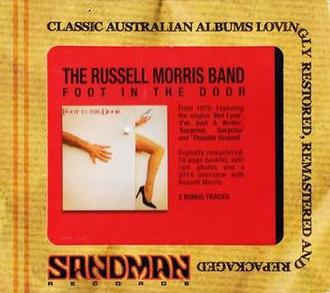 Foot in the Door (album) - Image: Foot in the Door (CD) by Russell Morris