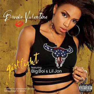 Girlfight (song) - Image: Girlfight Single