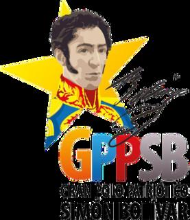 Great Patriotic Pole Left-wing Chavista political alliance in Venezuela