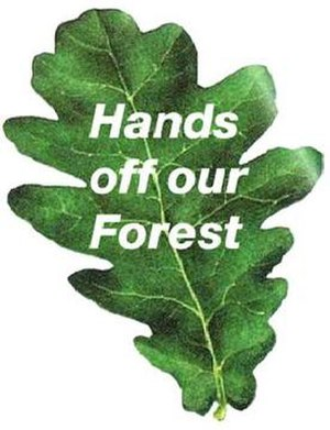 Hands off our Forest