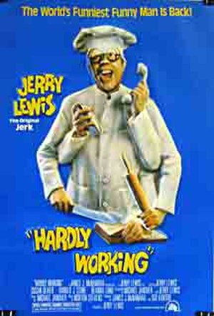 Hardly Working - U.S. theatrical poster