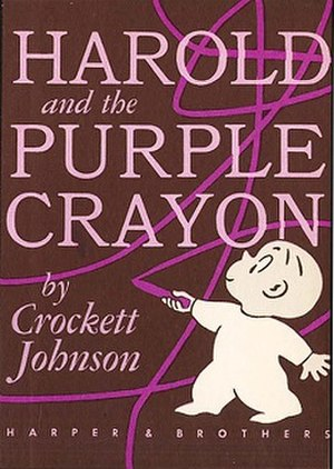 Harold and the Purple Crayon - First edition