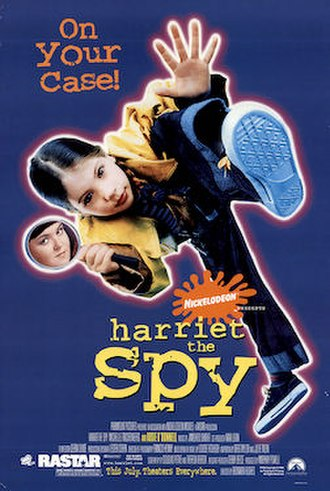 Harriet the Spy (film) - Theatrical release poster