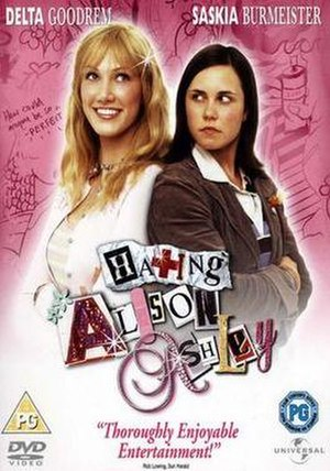 Hating Alison Ashley (film) - Image: Hating Alison Ashley DVD cover