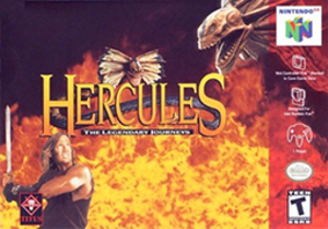 Hercules: The Legendary Journeys - Image: Hercules The Legendary Journeys Coverart