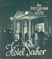 Hotel Sacher Film
