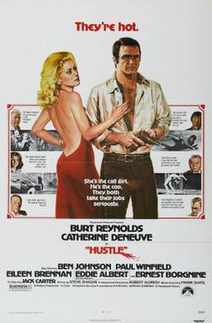 Hustle (1975 film) - Theatrical release poster