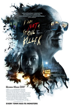 I Am Not a Serial Killer (film) - Theatrical release poster