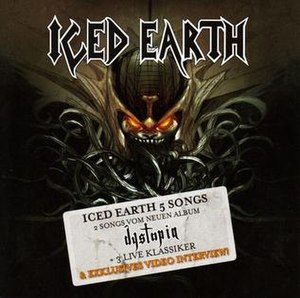5 Songs (Iced Earth EP) - Image: Iced Earth 5Songs