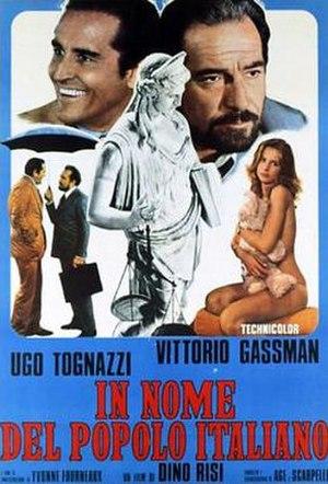 In the Name of the Italian People - Image: In nome del popolo italiano