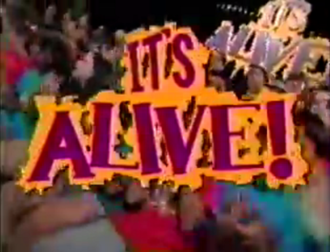 It's Alive! (TV series) - Image: It's Alive! logo