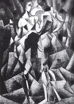 Jean Metzinger, 1910-11, Deux Nus (Two Nudes), dimensions and whereabouts unknown..jpg