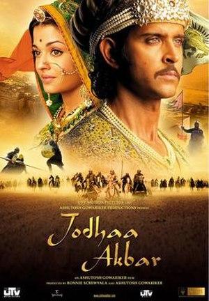 Jodhaa Akbar - Theatrical release poster