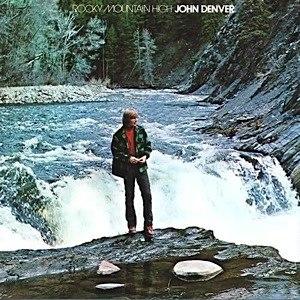 Rocky Mountain High (album) - Image: John Denver Rocky Mountain High