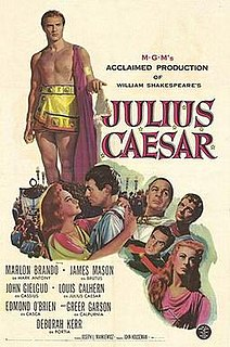 <i>Julius Caesar</i> (1953 film) 1953 film by Joseph L. Mankiewicz
