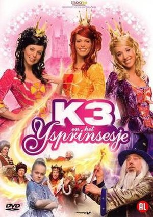 K3 en het ijsprinsesje - K3 En Het Ijsprinsesje DVD cover