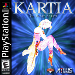 Kartia: The Word of Fate - Image: Kartia The Word of Fate Coverart