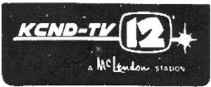 KCND-TV - Image: Kcnd tv 12 1970s