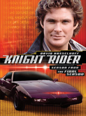 Knight Rider (season 4) - Image: Knight Rider season 4 DVD